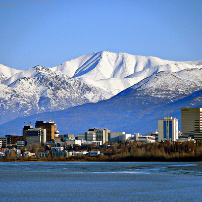 15. Anchorage, Alaska