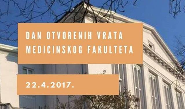 Dan Otvorenih Vrata Najstarijeg Medicinskog Fakulteta U Hrvatskoj