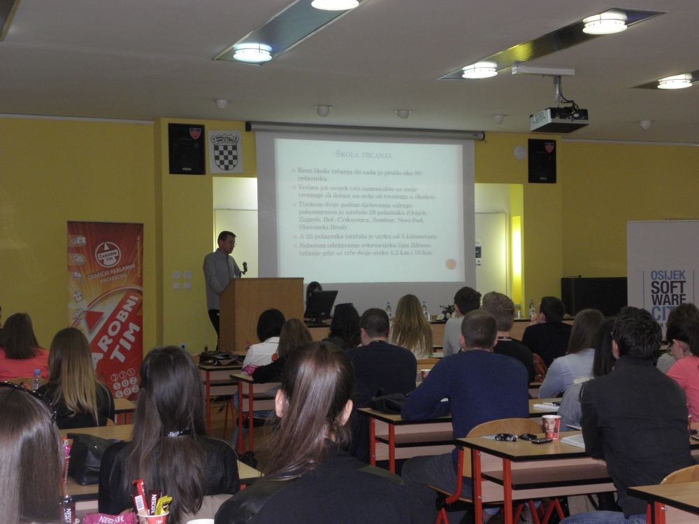 Izlaganje na Youth to Business Forumu