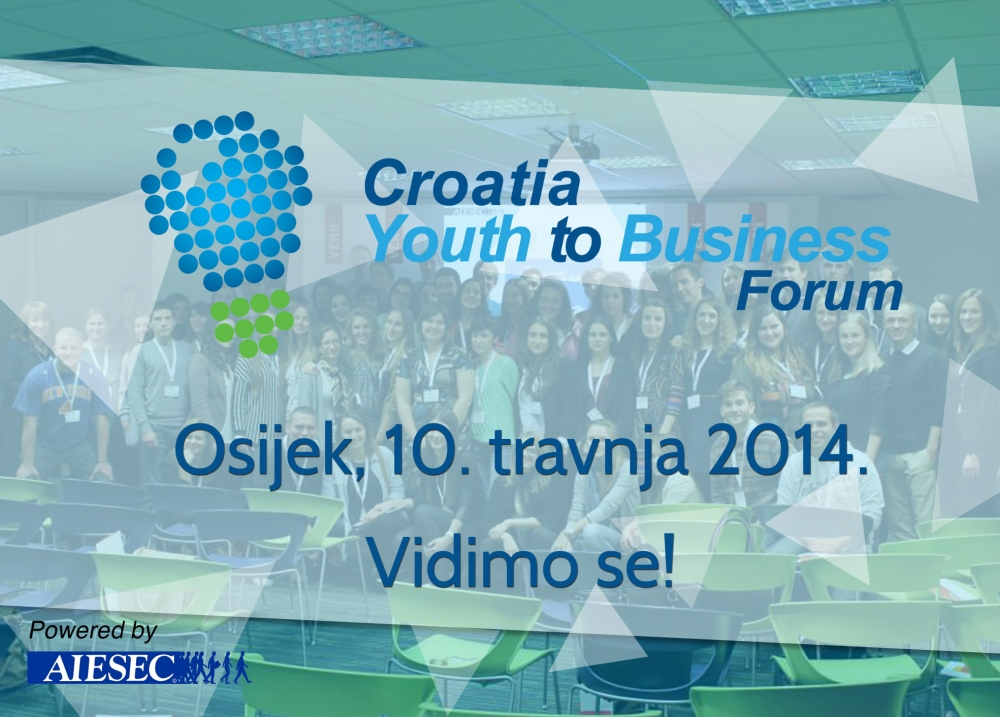 Croatia Youth 2 Business Forum logo