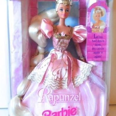 Zlatokosa Barbie