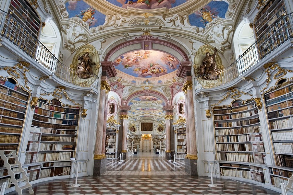 The Admont Library, Austria