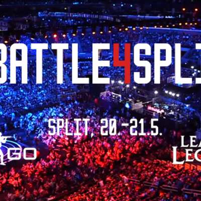 LAN Battle for Split