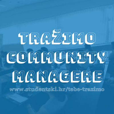 Tražimo community managere