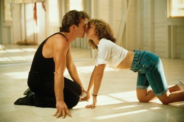 Dirty Dancing, poljubac
