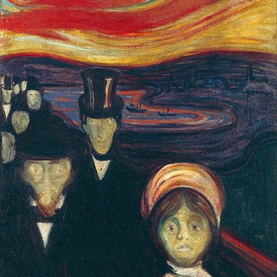 Edvard Munch, Anxiety