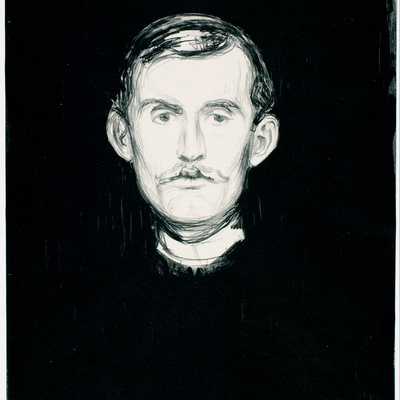 Edvard Munch, Self-portrait II