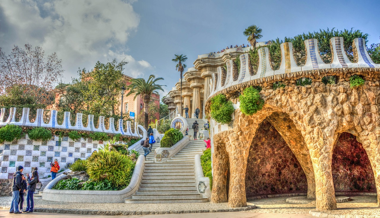 Gaudi, parc guell