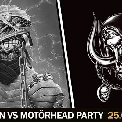 Iron Maiden vs. Motörhead party