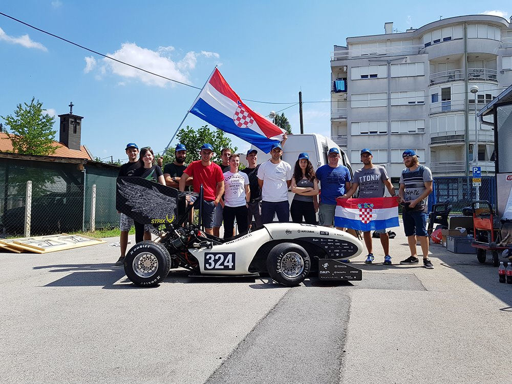 FSB Racing Team - Polazak