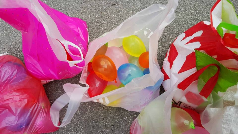 Water Balloon Chalenge baloni
