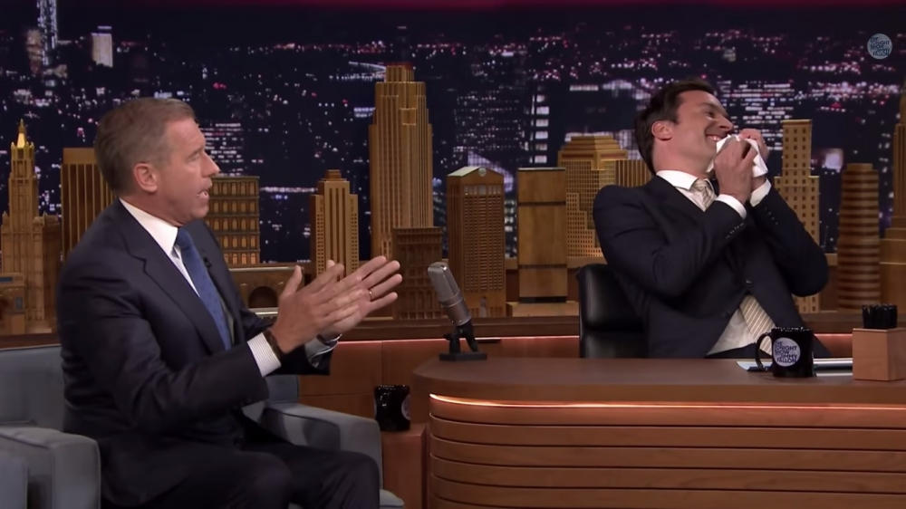Jimmy Fallon i Brian Williams