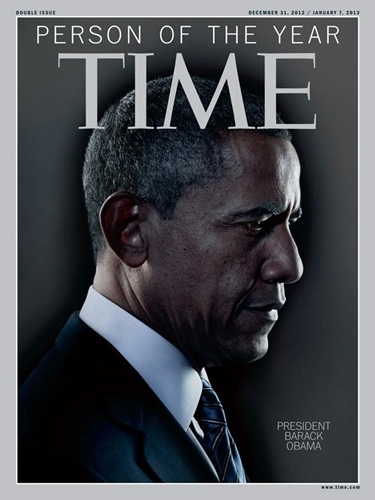 TIME magazin 2012., Obama