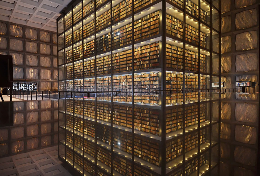 The Beinecke Rare Book & Manuscript Library, Yale University, Connecticut, USA