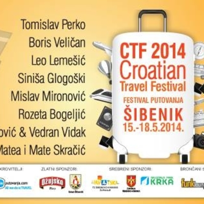 Plakat Croatian Travel Festivala