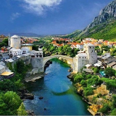 Mostar, most