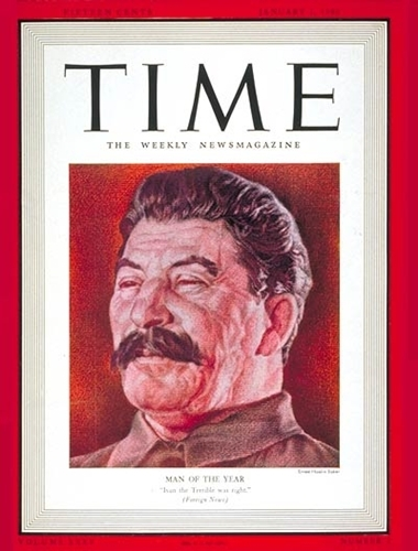 TIME magazin 1940., Staljin