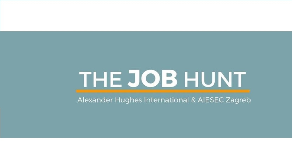 The Job Hunt 2015