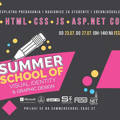 Summer School of Visual Identity and Graphic Design