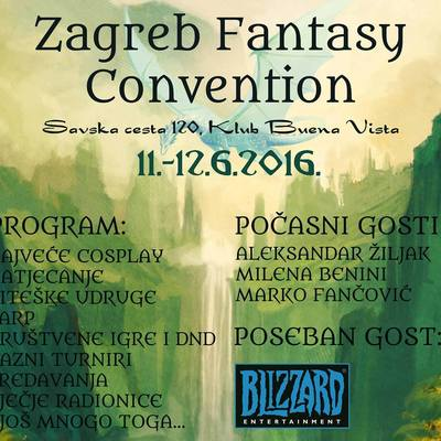 Zagreb Fantasy Convention 2016.