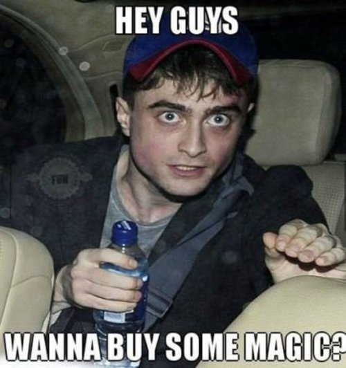Wanna buy magic