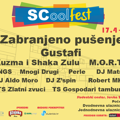 SCool Fest line-up