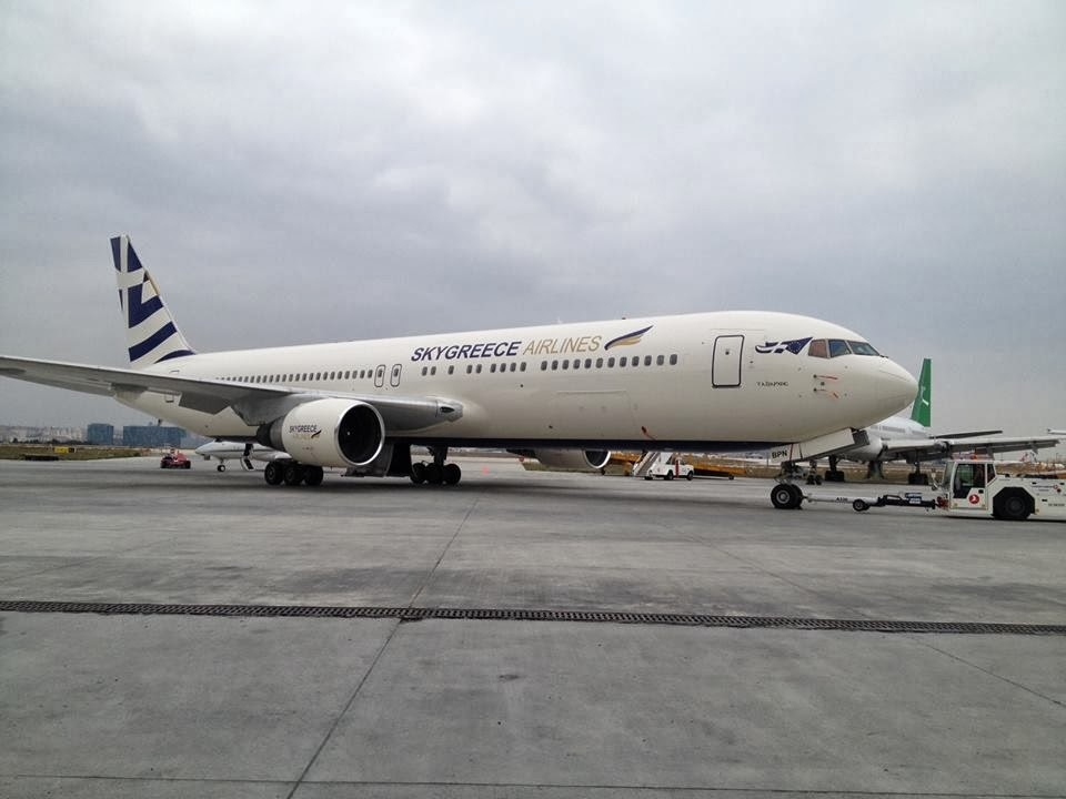 SkyGreece Airlines avion