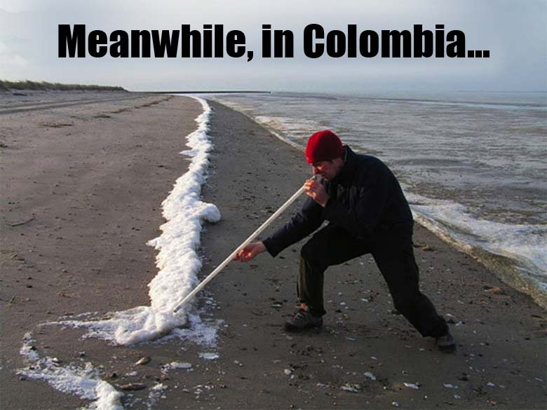 Meanwhile in Columbia