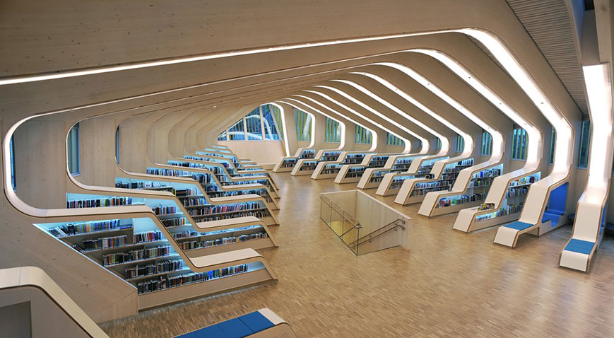 Vennesla Library and Culture House , Norway